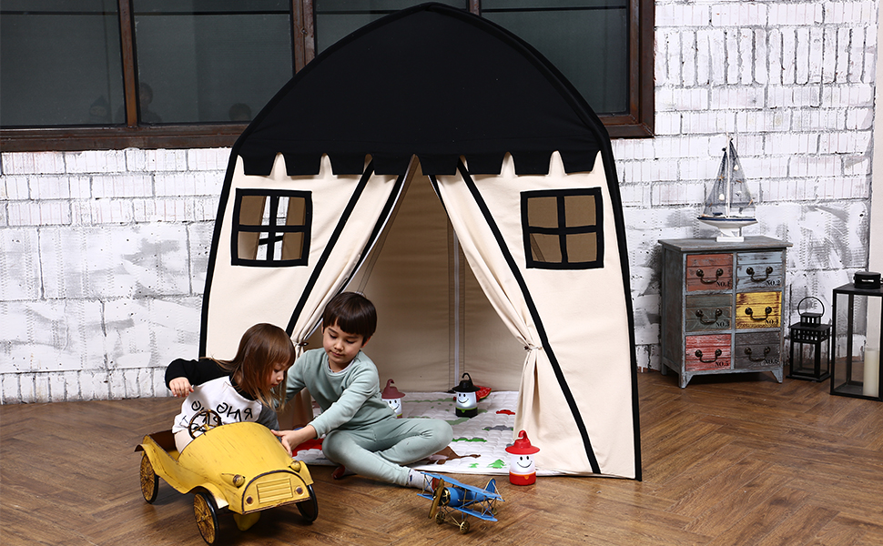 palyhouse for kids to have fun indoor and outdoor