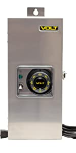 300W 300 watt led low voltage AC transformer landscape lighting outdoor 12V 12 volt 15V