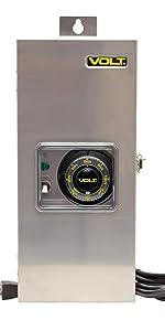 low voltage transformer 12V 15V outdoor landscape lighting 150W