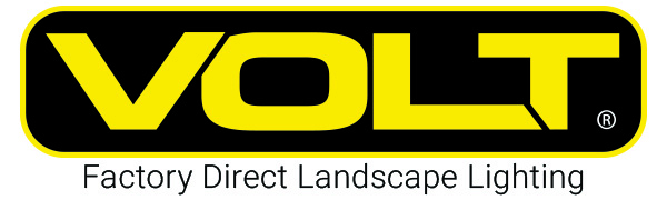 VOLT Lighting logo low voltage landscape lighting for home garden yard driveway path walkway outdoor