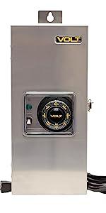 150W 150 watt led low voltage AC transformer landscape lighting outdoor 12V 12 volt 15V