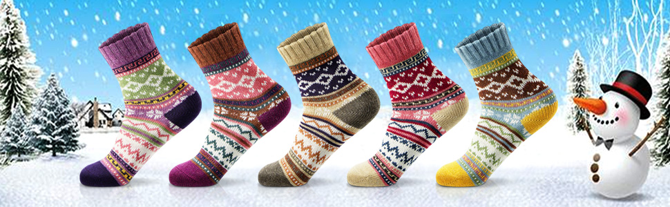 womens winter socks