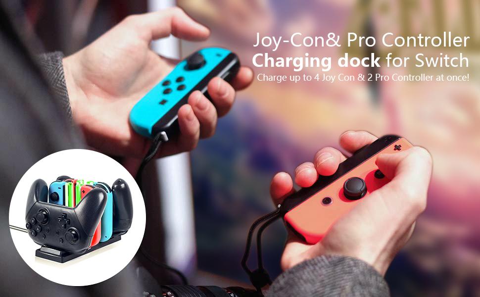 Amazon.com: Rytaki - Cargador controlador para Nintendo ...