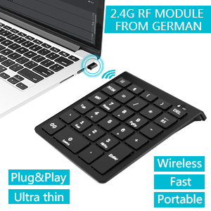 wireless number pad