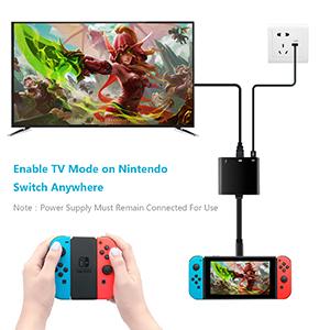 Amazon.com: Rytaki - Adaptador HDMI tipo C para Nintendo ...