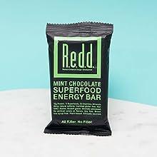 REDD Bar, Superfood Energy Bar, Mint