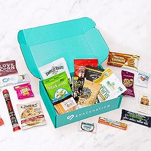 SnackNation, 25 Snacks, Variety, Delicious, Healthy Snacking