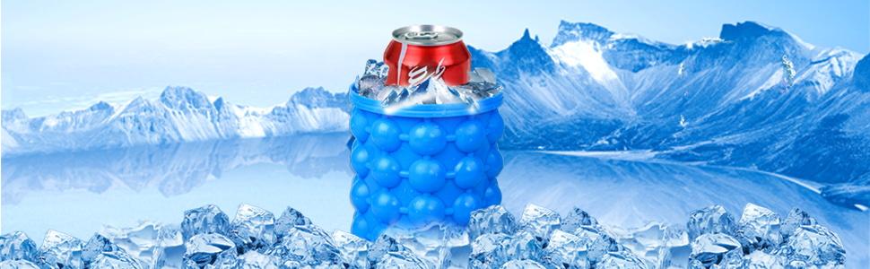 Ice bucket maker