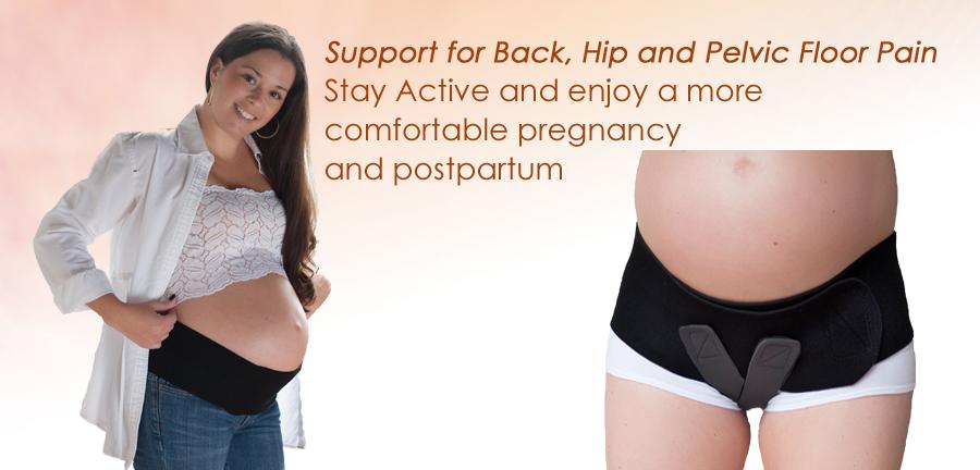 bda6f483ddd Amazon.com  Baby Belly Band - Pregnancy   Maternity Belt with Medium ...