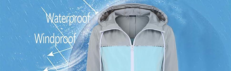 FISOUL Waterproof Jacket