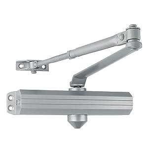 lawrence LH5016 medium heavy duty commercial door closer aluminum closure surface mounted grade 1