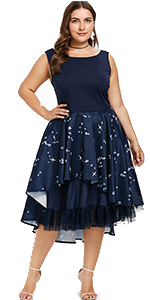 8dadf5dbabe Women s Plus Size Vintage Off Shoulder Cocktail Dress L-5XL · Women s  Butterfly Print Cold Shoulder Long Sleeves Plus Size Dresses S-5XL ·  Women s Plus Size ...