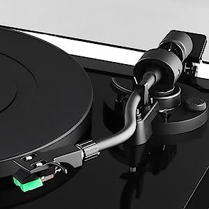 record player, turntable, tonearm, stylus