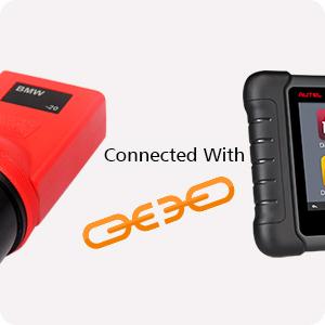 Autel Original MaxiCOM MK808 Diagnostic Tool 7-inch LCD Touch Screen Swift  Diagnosis Functions of EPB/IMMO/DPF/SAS/TMPS
