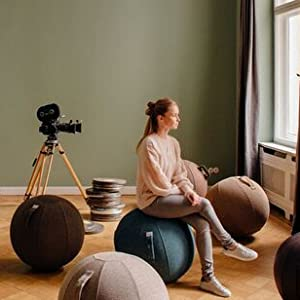 sitting ball active seat vluv