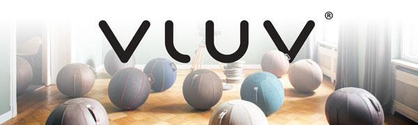 vluv exercise balls logo