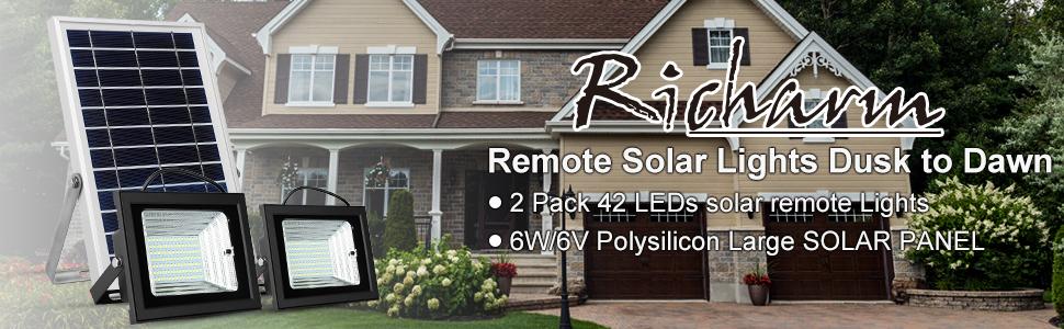 Richarm Solar Lights