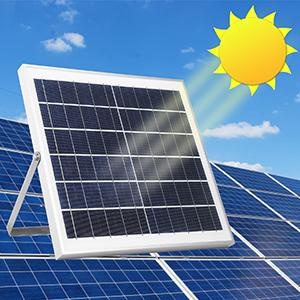 Solar Charging from dawn