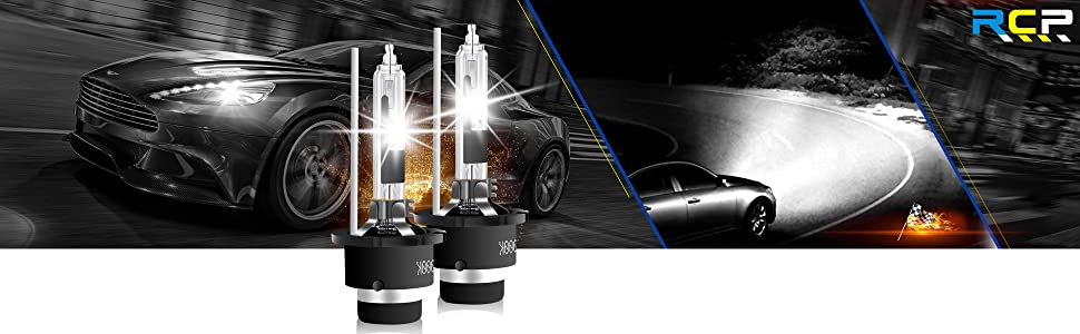 2005 to 2012 Acura RL HID Xenon D2S Headlight Replacement// Spare Bulb Set 1 Pair