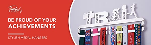 Fearless Sports Sports Medal Hanger