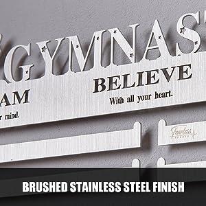 stainless steel medal hanger