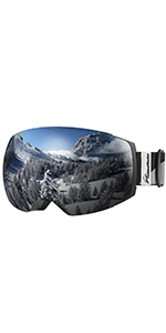 afbacde90df Amazon.com   OutdoorMaster Ski Goggles PRO - Frameless ...