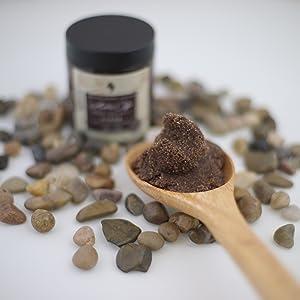 Coffee Scrub. All naturals scrubs. Dead Sea. Coffee with dead sea. Skin Care. Body care.