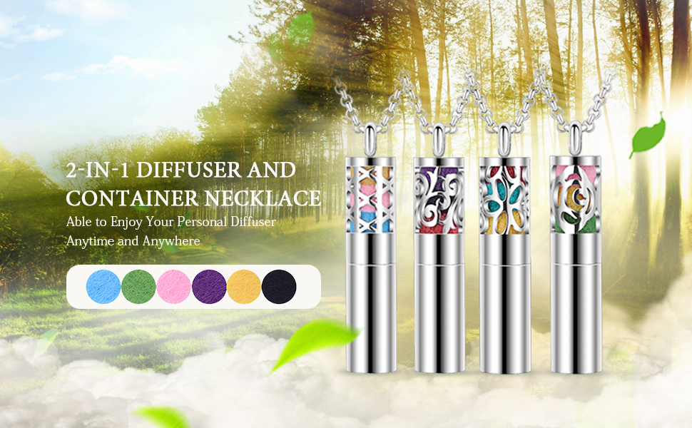 2-in-1 Diffuser & Container Necklace