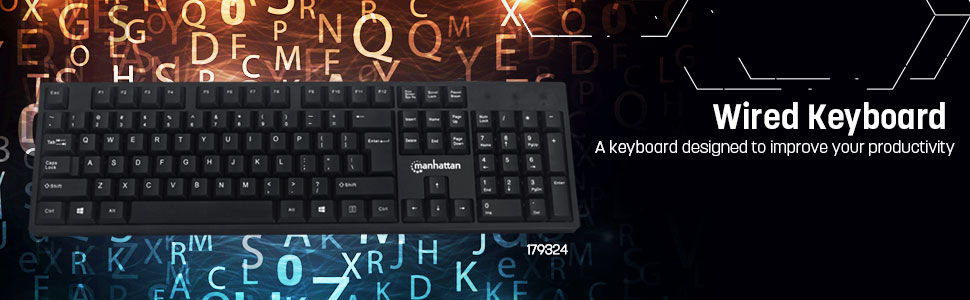 Manhattan wired keyboard