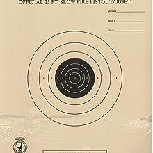 100 B3 Arrivée /& Rapid Fire Pistolet Cible B-3 NRA officiel 50 Ft prédécoupé environ 15.24 m