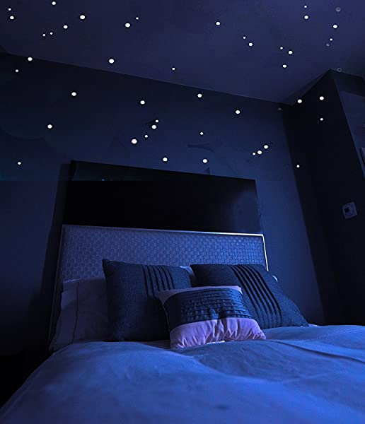 Glow in the dark stars stickers 528 pack for Constellation ceiling mural