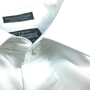 flex collar comfy collar extender spread dress shirt white fitted