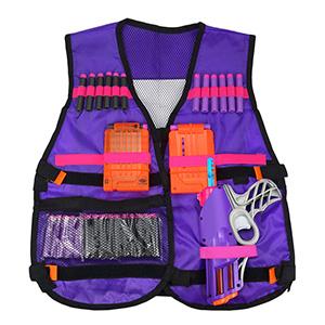 Kids Tactical Vest for Nerf Gun