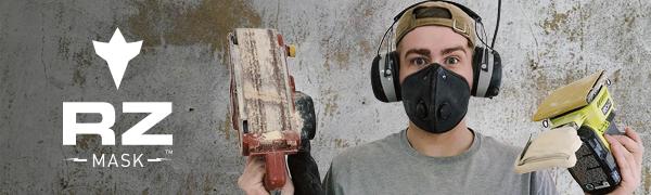 mesh air filter mask