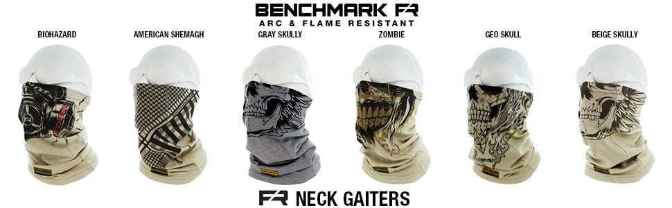 Benchmark FR Neck Gaiter Styles and Colors