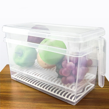 refrigerator storage organizer with stackable design for space saving