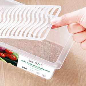 Amazon Com Food Storage Containers 3 X 1 5l Fridge