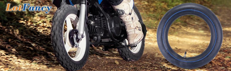 2.50 x 10 Dirt Bike Inner Tube Honda CRF50 XR50 Yamaha Suzuki Kawasaki Pit Bike