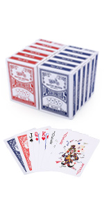 Amazon.com: LotFancy Playing Cards, 100% Plastic, Waterproof ...