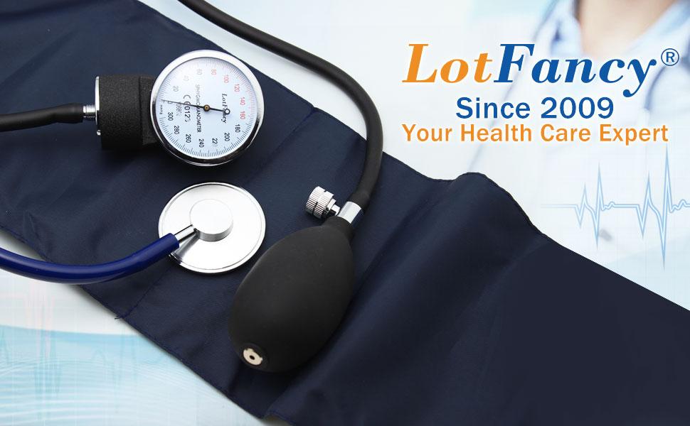 Amazon.com: LotFancy Kit de presión arterial manual ...