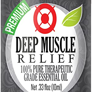 Deep Muscle Relief Essential Oil