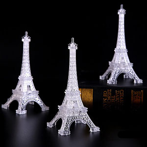 Amazon.com: Eiffel Tower - Lámpara de mesa para dormitorio ...