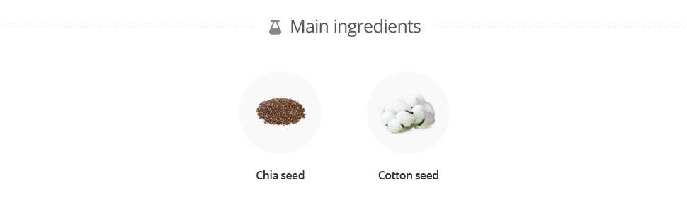 Amazon.com: [la cara tienda] Chia semillas Humedad Suero de ...