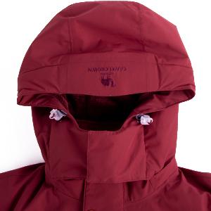 detachable hooded