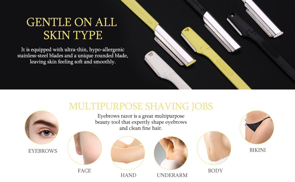Amazon Etereauty Eyebrow Razors Precision Sharpness For