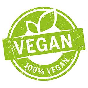 Vegan Certified 100% All Natural Organic