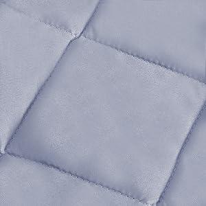 grey crib bumper pads