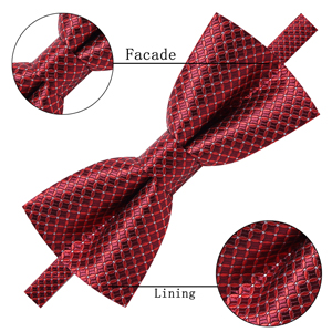bow ties Burgundy red