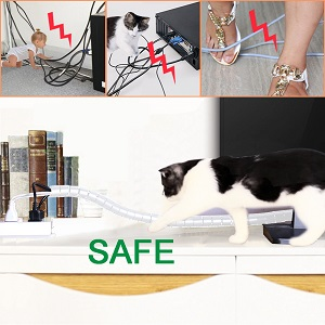 Protect your pets & cables safe