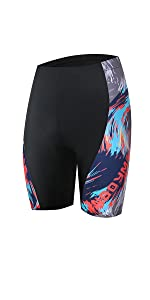 women cycling shorts flower printed